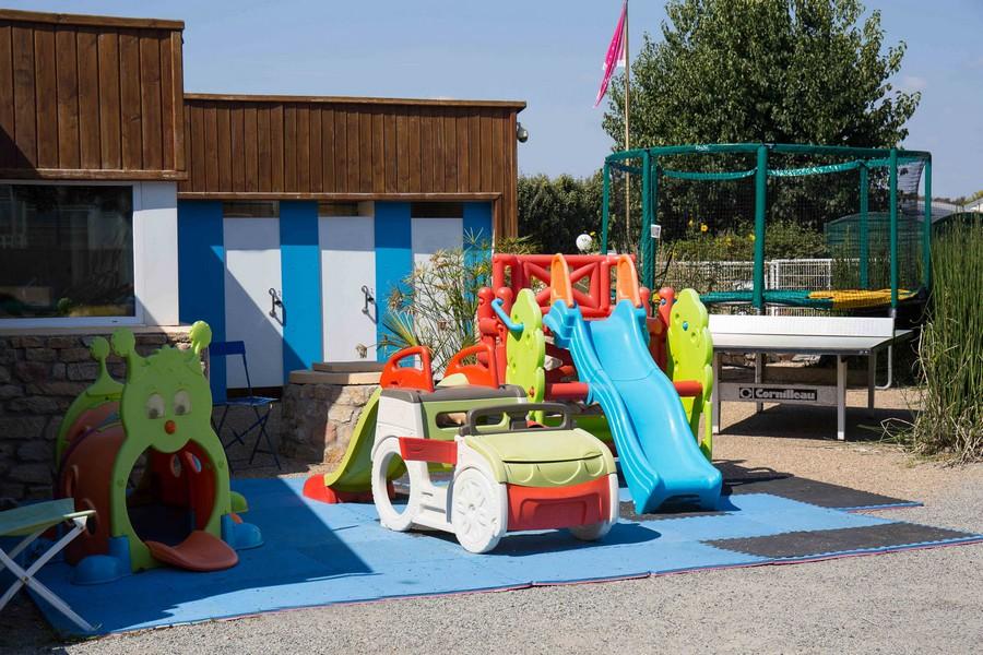 Espace de jeux - Erdeven - Camping L'Idéal